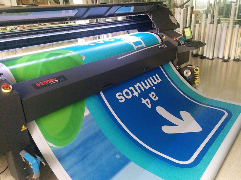 Rotulacion Publicitaria Carrefour Valencia Cebra Express