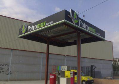 Rotulación de gasolineras en Valencia