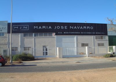 Rótulos para naves industriales en Valencia