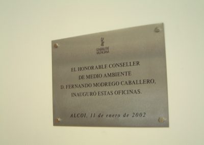 Placas corporativas acero inoxidable (4)