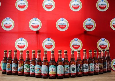 Expositor Pop Up y Packagin: Evento Amstel