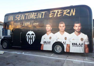 Rotulación de autobús : Valencia CF