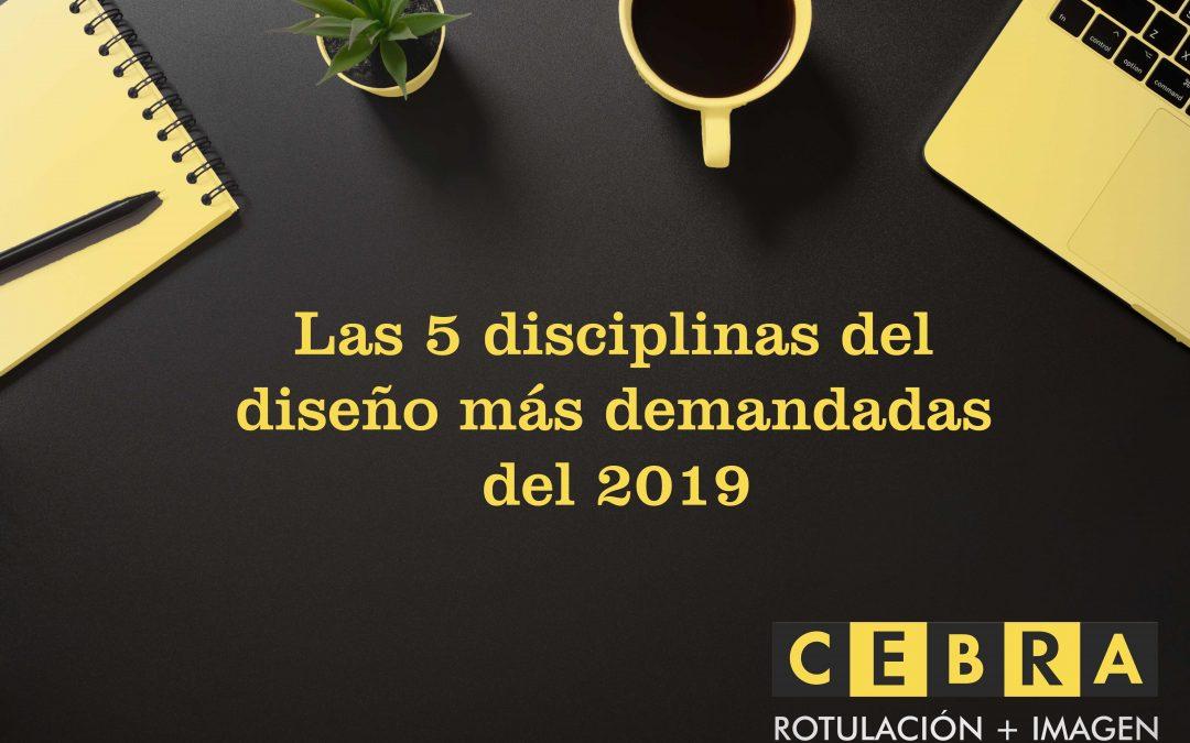Las 5 disciplinas del diseño más demandadas del 2019