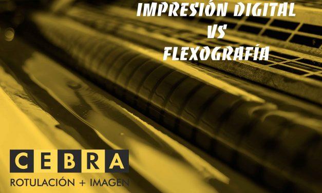 Impresión digital VS impresión flexográfica