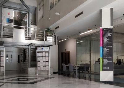 Señalización interior casa consistorial: Ayuntamiento Quart de Poblet