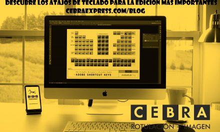 Atajos de teclado para Photoshop, Ilustrator e Indesing