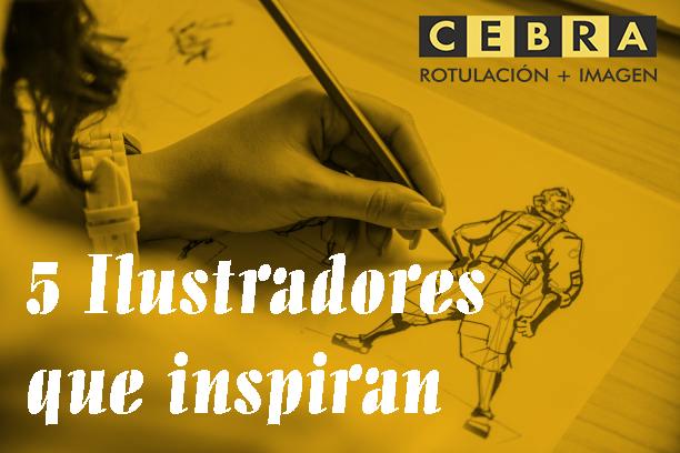 Ilustradores de diferentes ámbitos de especialización