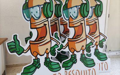 PLV de promoción en punto de venta: Fresquito