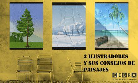 3 ilustradores y sus consejos sobre paisajes