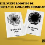 El nuevo logotipo de Chernobyl que se desvanece
