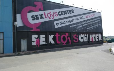 Impresión digital gran formato: Sex Toys Center